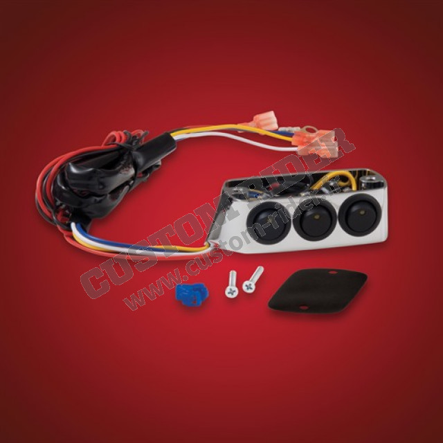 Cocotte droite 3 interrupteurs