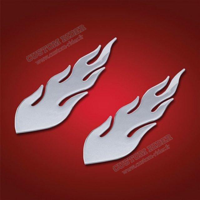 Flammes chromées
