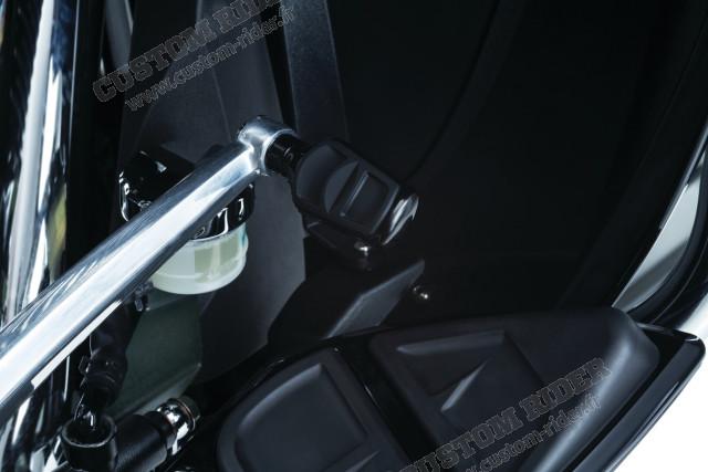 Embout sélecteur de vitesse ou pédale de frein Kinetic