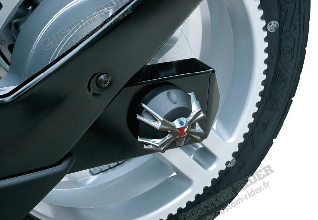 Décoration d'axe de roue - GS/RS