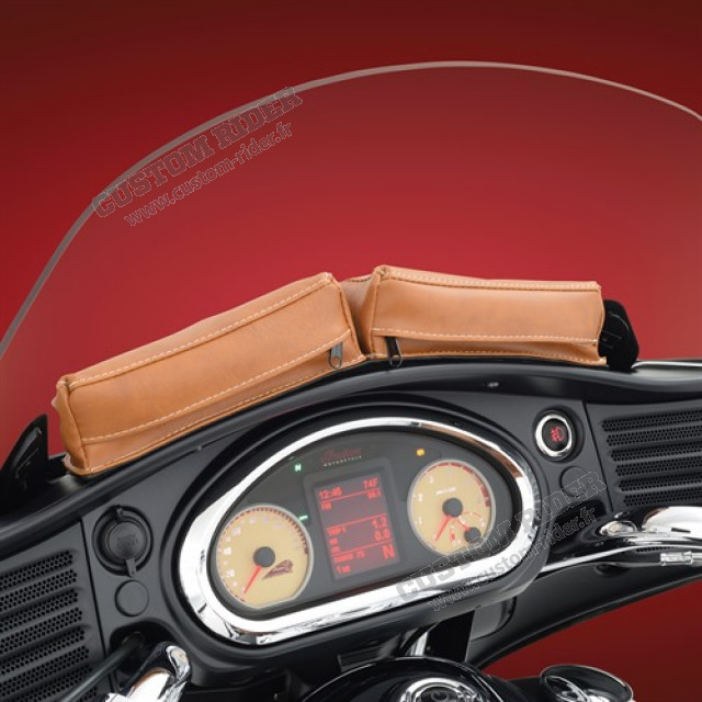 Pochette double de pare-brise - Chieftain/Roadmaster/ Cross Country/Magnum