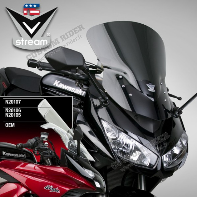 Pare-brise VStream  - Z1000SX Ninja 1000