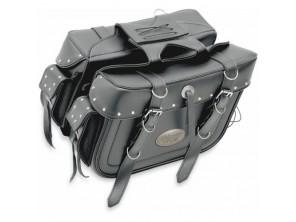 Sacoche cavalière style boite XL