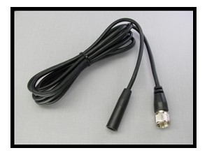 Cordon d'antenne PL259 / Motoradio femelle